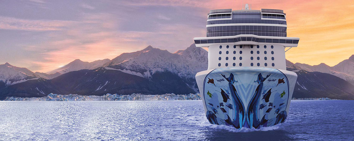 Exclusive cruises to Alaska with Norwegian Bliss
