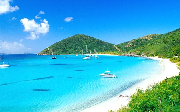 saint thomas touristic port st thomas island virgin islands